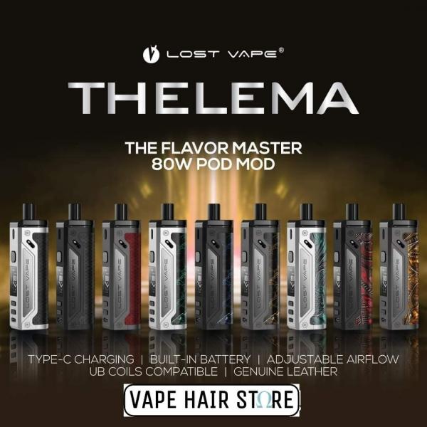 Thelema 80W pod kit by Lost vape