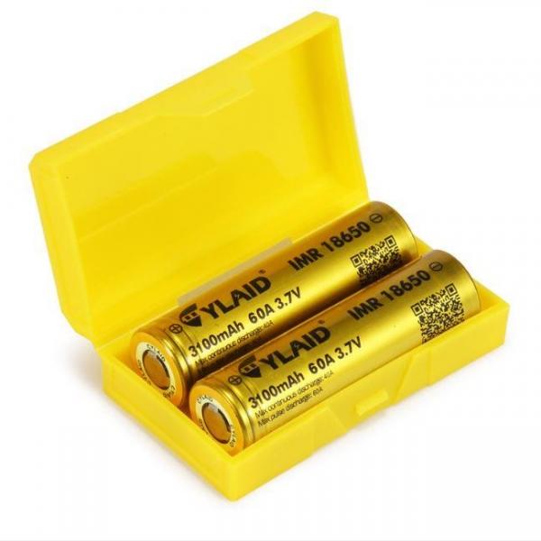 Pin 18650 Cylaid Vàng 3100 mAh 60A