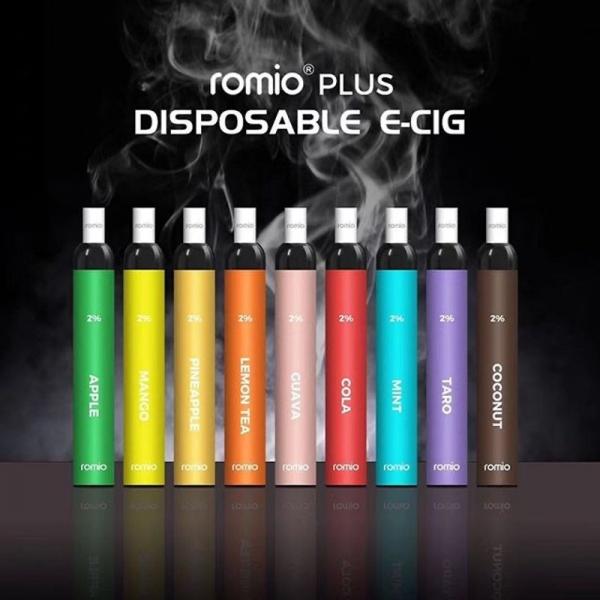 Romio Plus Pod hút 1 lần 600 hơi