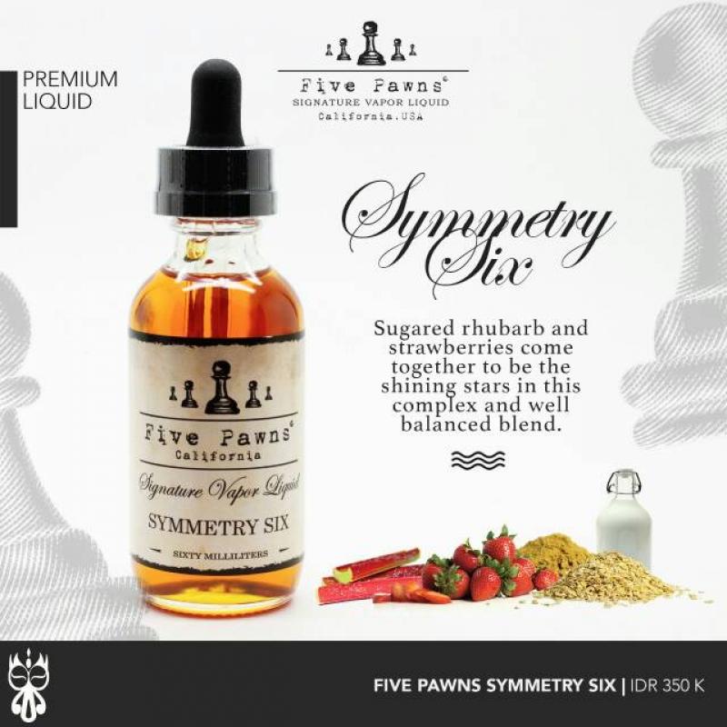 Five Pawns - Symmetry six